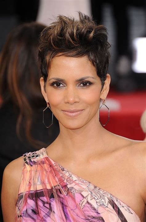 harry berry hairstyle halle berry hairstyles hair pinterest
