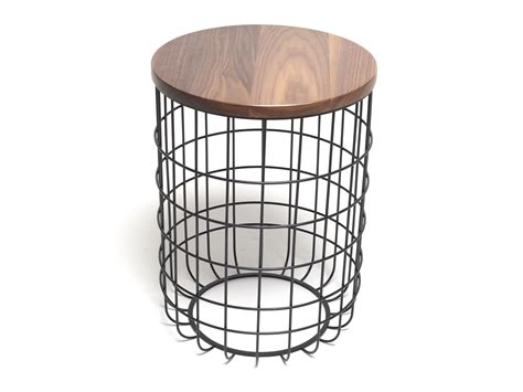 Wire Side Table Wire High Side Table By Studio Design