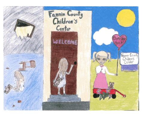 Drawing Contest For Kids Win Money - kids art contest fannin county children s center