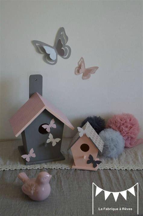 décoration chambre enfant bébé nichoir oiseau maisonnette