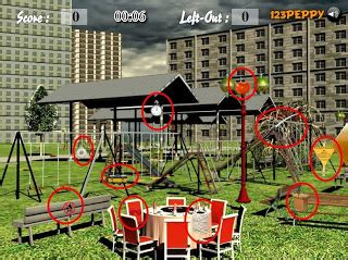 theme park cheats find the objects in the theme park walkthrough cheats