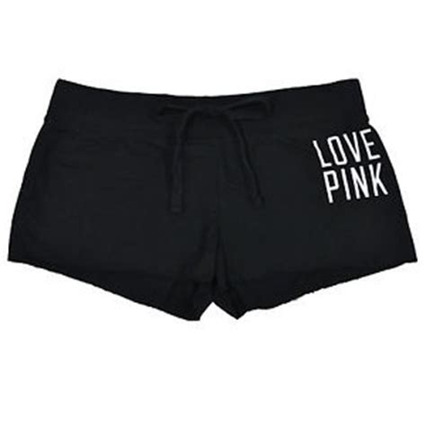 Victorias Secret Pink Lounge Z 1154 victorias secret pink mini shorts lounge sleep edge graphic new v698