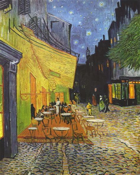 Barnhouse by Van Gogh S Caf 233 Terrace At Night Where Is It Paris