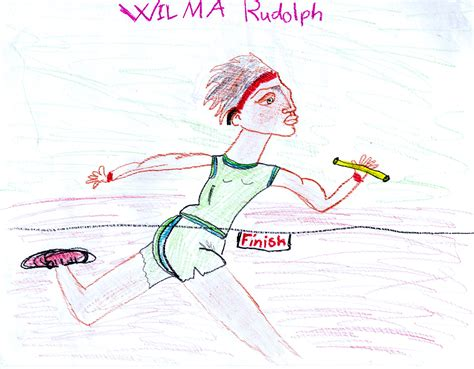 How To Draw Wilma Rudolph wilma rudolph kidzera
