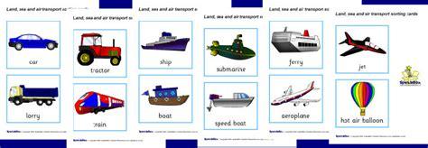 transport sorting cards sb sparklebox