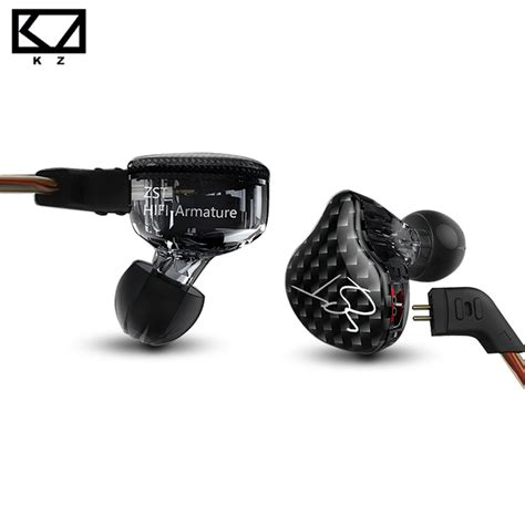 Stereo Earphone Headset Sport Detachable Cable Knowledge Zenit kz zst armature dual driver earphone detachable cable in ear audio monitors noise isolating hifi