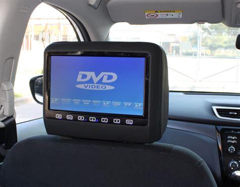 nissan dvd player format x trail 2015 9 quot headrest dvd players creative installations