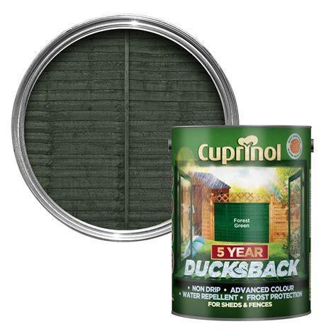 Cuprinol 5 Year Ducksback Forest green Shed & fence