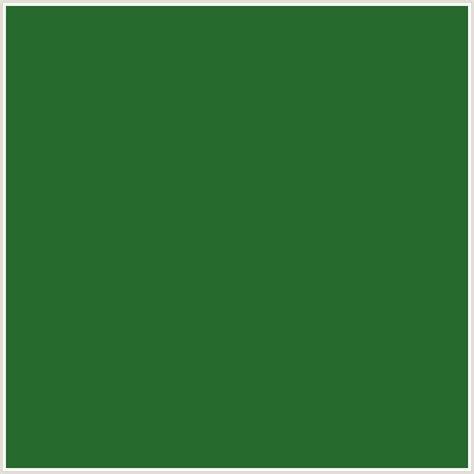 forest green pantone 266a2e hex color rgb 38 106 46 forest green green