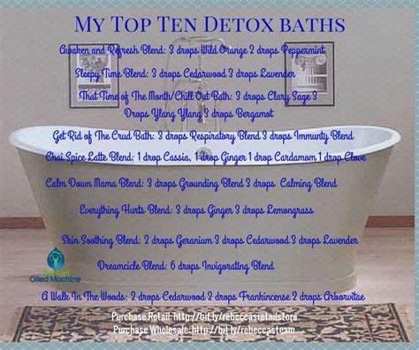 Detox Essential Bath Recipe by 21 Best Images About Baths And Oils On Nasal