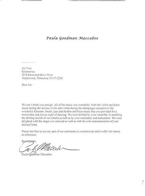 Thank You Letter For Your Business fresh thank you for your business letter exles resume