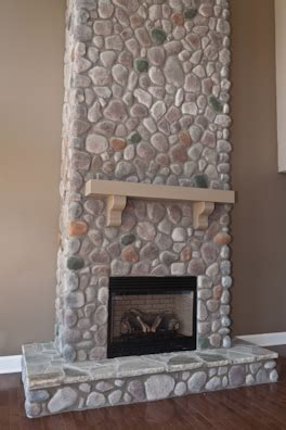 river rock fireplace surround kentucky river rock fireplace surround by quality