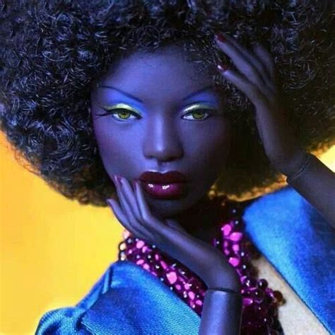 black doll quotes doll with black hair quotes