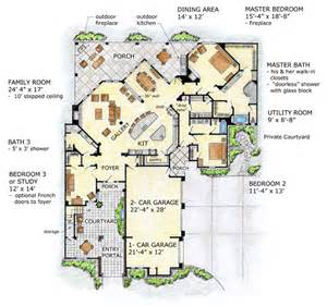 House Plans Florida by House Plan 56549 At Familyhomeplans Com