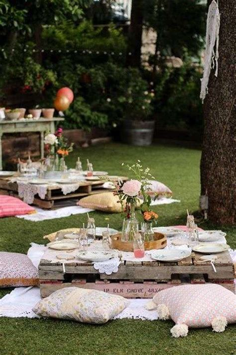 backyard picnic ideas 25 best ideas about kids garden parties on pinterest