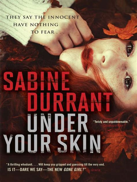 Book Review The Great Indoors By Sabine Durrant by Your Skin Toronto Library Overdrive