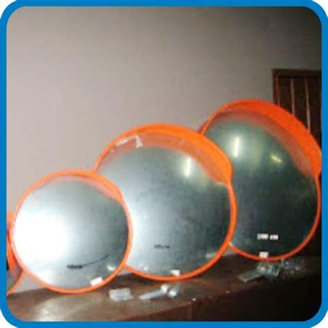 Cermin Lalu Lintas convex mirror pabrik rambu jual aksesoris rambu