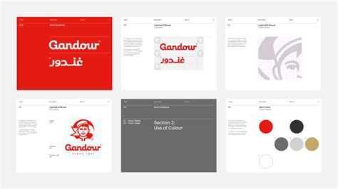 design guidelines branding brand new new logo for gandour by mash creative and