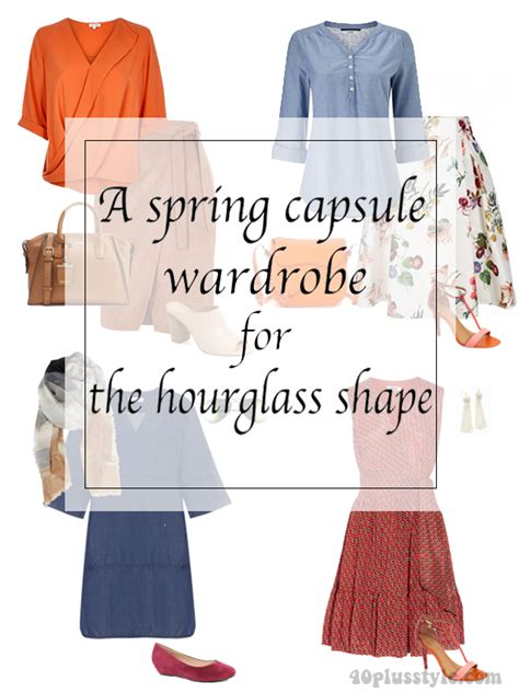 capsule wardrobe for the over40s spring capsule wardrobe for the hourglass body shape