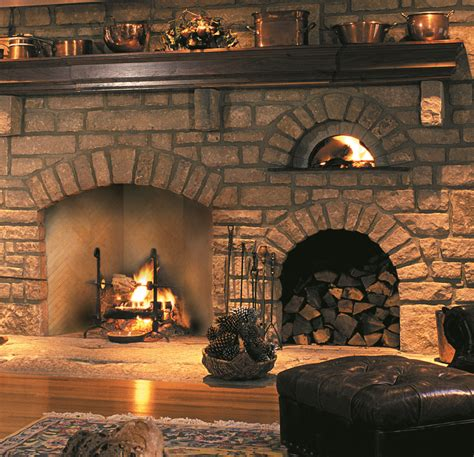 Oven Fireplace by Herringbone Gallery Superior Clay