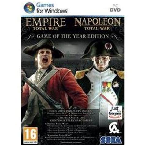 empire total war console empire total napoleon total war goty jeu pc achat
