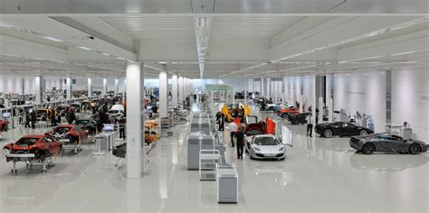 mclaren factory interior a tour of mclaren factory with lucas pro tools a truly
