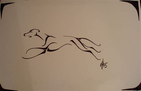 tribal dog tattoo greyhound tribal by ssslipgrrrl on deviantart