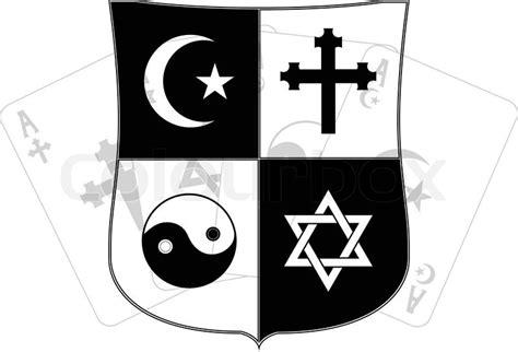 clipart religiose schablone schild und religi 246 se symbole vektor