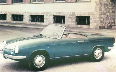 1960 abarth 850 riviera spider allemano related infomation