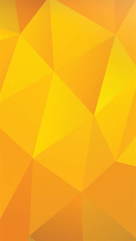 design house skyline yellow motif wallpaper iphone壁紙 黄色いポリゴン模様 スマホ壁紙 iphone待受画像ギャラリー