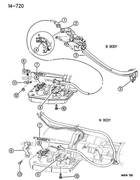 manual repair free 2008 dodge dakota engine control 52079204 genuine mopar cable throttle valve