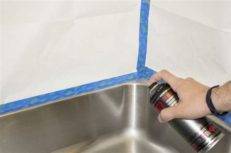 Paint Kitchen Sink How To Paint A Kitchen Sink With Pictures