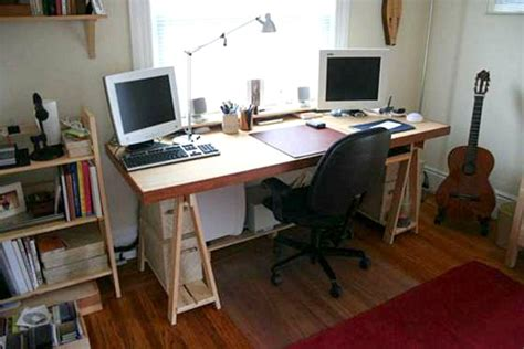 diy desk from door 18 diy desks to enhance your home office