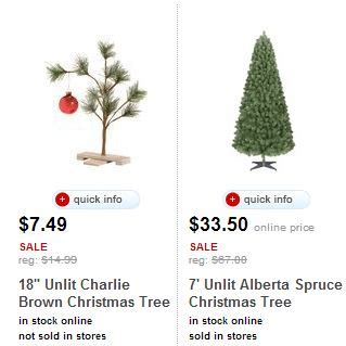 target com 50 off artificial christmas trees today only