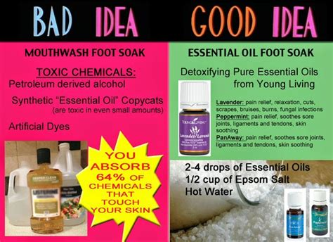 Essential Foot Soak Detox by 17 Best Images About Oils On Essential