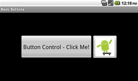 button android android user interface design basic buttons
