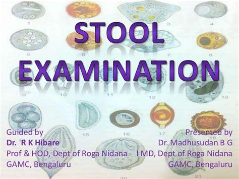 Wbc Stool Test by Stool Examination