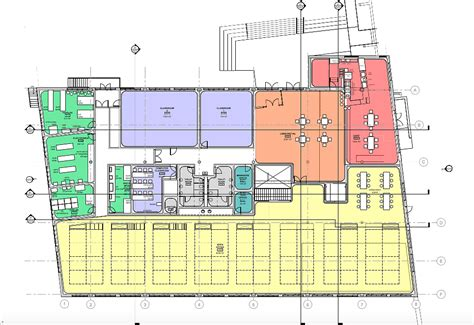 schematic design building layout made in baltimore architectural design for makerspaces