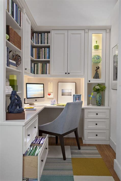 built  home office traditional  file cabinet corner