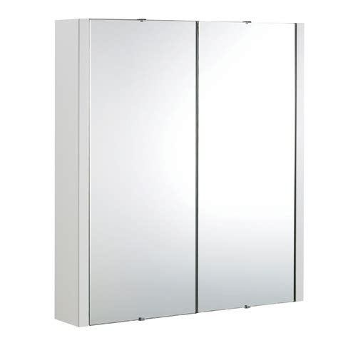 bathroom mirror doors premier 2 door bathroom mirror cabinet 600mm