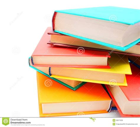multi books multi coloured books royalty free stock image image