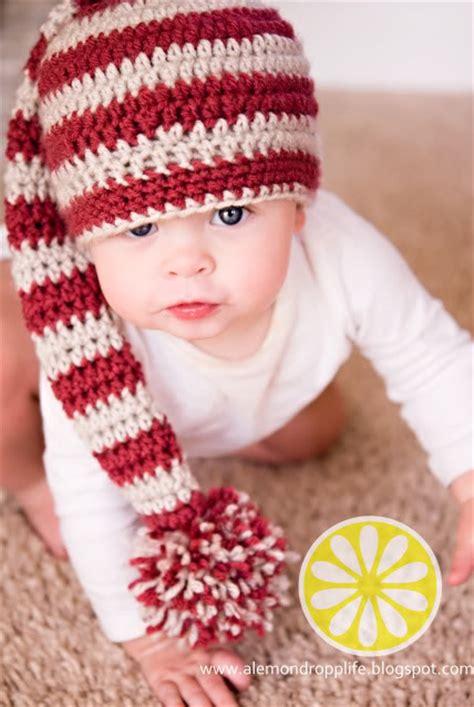 free crochet santa hat for children diy crochet baby sets free pattern