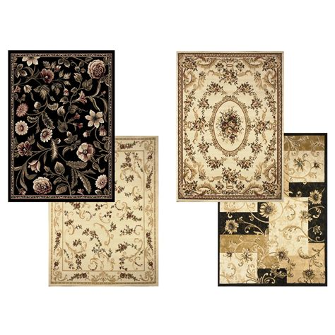 area rug 5x7 transitional floral area rug 5x7 casual vines scrolls carpet actual 5 2 quot x7 2 quot ebay
