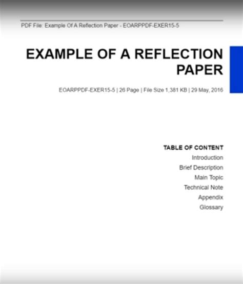 write  reflection paper paperstime reflection
