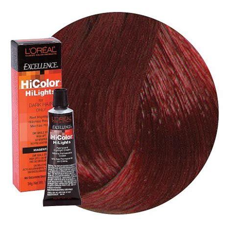 loreal hi color magenta l oreal excellence hicolor magenta highlights 1 2