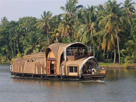 house boat india take an overnight houseboat cruise through the backwaters