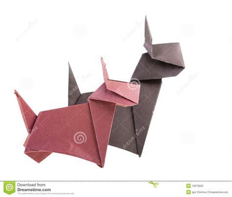 Origami Figure - origami stock photo image 13079220