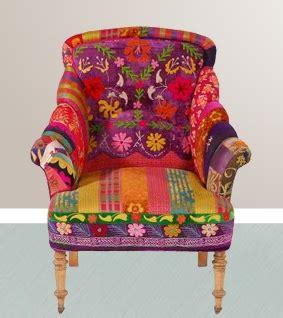 Boho Patchwork Chair - bohemian style on bohemian furniture bohemian