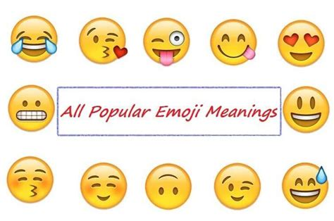emoji meanings 21 popular emoji meanings you must know while chatting