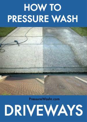 how to clean concrete patio without pressure washer how to pressure wash your concrete or brick driveway pressurewashr